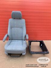 Seat VW T5 Inca front passenger comfort adjustments armrests base HEATING