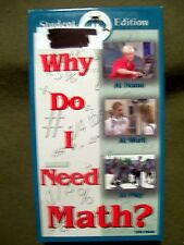 Why Do I Need Math? Student Edition (1997, VHS)