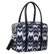 MISSONI For Target Black White Chevron Zig Zag Travel Tote NWT SOLD OUT in 2011!