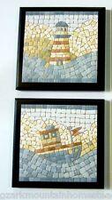 Lighthouse 2 Nautical Bathroom Wall Decor ocean bath plaque coastal pictures