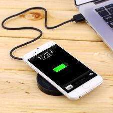 Qi Wireless Ladestation Induktion Ladegerät Charger für Samsung iphoneX iphone8+