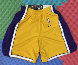 Lakers Kobe Bryant Size 34 Nike Authentic Pro Cut Jersey Shorts Shaquille Oneal