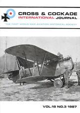 Cross & Cockade V18 N3 Soviets RAF North Russia Westgate Clem Austro Hungarian