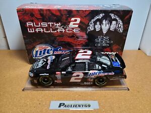 2003 Rusty Wallace #2 Miller Lite / Goo Goo Dolls Dodge 1:24 NASCAR Action MIB