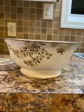 Lenox Marchesa Gilded Forest Serving Bowl Round New