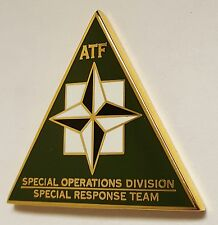 ATF SOG Special Operations Division Special Response Team - Olive Drab Enamel