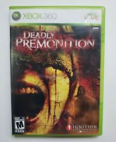 Deadly Premonition (Microsoft Xbox 360, 2010) Complete