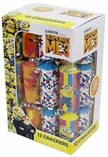 Box Of 12 Despicable Me 3 Novelty Christmas Party Crackers