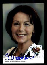 Brigitte Walbrun Dahoam is Dahoam Autogrammkarte Original Signiert # BC 103174