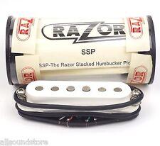 NEW RAZOR SSP Stacked Humbucker Guitar Pickup for Single Coil Slot MADE IN JAPAN