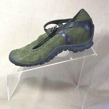 Merrell Plaza Women's  mary jane shoes Green Suede Size 6.5