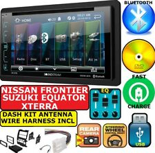 SOUNDSTREAM AM/FM CD/DVD BLUETOOTH-USB-EQ-TOUCHSCREEN CAR STEREO RADIO PACKAGE