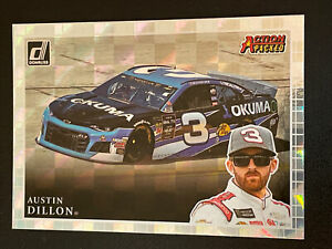 2020 Donruss Racing Action Packed Checkers AUSTIN DILLON #AP1
