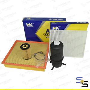 Service Kit (Air,Oil,Fuel,Cabin Filter) for Volkswagen Amarok 2H 2L Diesel 02/11