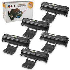 LD © Fits Samsung ML-2010D3 5pk Black ML-2010 ML-2510 ML-2570  ML-2571N