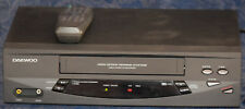 DAEWOO Model DV-T3DN VCR VHS Video Player/Recorder w/REMOTE Made in KOREA, WORKS