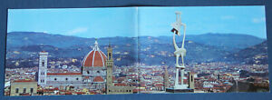 Henry Moore Florence 1972 exhibition panorama Postcard art Belvedere Fort