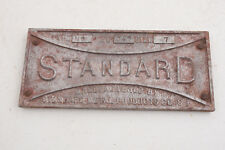 "Standard Metal Products Aluminum Metal Sign 6.5x3"" San Francisco (C4R)"