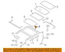 VOLVO OEM 08-16 XC70-Sunroof Frame Buffer 30799997