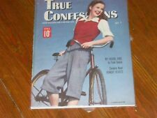 Alcoholics Anonymous Collectors! EXTREMELY RARE! July 1945 Copy TRUE CONFESSIONS