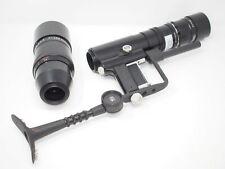 Novoflex Noflexar 280mm f5.6 & 400mm Lente f5.6 cabezas + Empuñadura de pistola