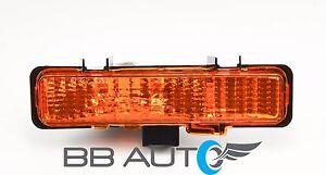 83-94 CHEVY S10 BLAZER GMC S15 JIMMY RH FRONT BUMPER PARK SIGNAL LIGHT LENS NEW