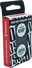 2017 Black Authentic Deck Dealt at WSOP Used Copag Poker Plastic Playing Cards *