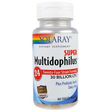 Super Multidophilus 24 Strain Probiotic 30 Billion CFU - 60 Vegetarian Capsules