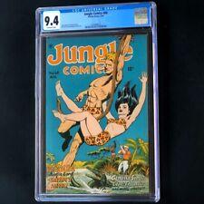 JUNGLE COMICS #68 (1945) 💥 CGC 9.4 HIGHEST GRADED 💥 Fiction House Comic