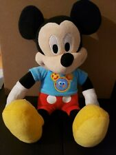 Singing Talking Mickey Mouse Clubhouse Fun Hot Dog Song Phrases Plush Toy Works