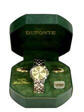 Mens Lucien Piccard Dufonte Watch NEW IN BOX