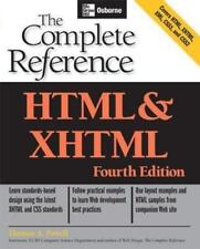 HTML & XHTML: The Complete Reference (Osborne Complete Reference Series)