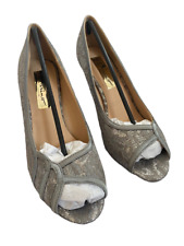 Ladies Peep Toe Lace Shoe