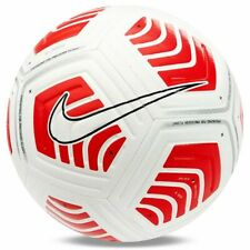 Nike Strike Round Soccer Football Ball White/Red Db7853-100 Size 5