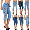 Donna Capri Pantaloni Jeans Bermuda Da H11 IT