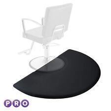 Open Box - 3' x 5' Semi Circle Anti-Fatigue Salon Chair Floor Mat
