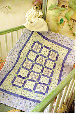 B Is For Baby Quilt Pattern Pieced/Applique RN
