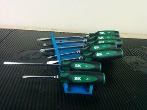 #af939  NEW!!  2020 SK Hand Tool 86330 CushionGrip Screwdriver Set, 7-Piece