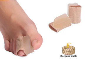 1 Pair Big Toe Bunion Separator Corrector Straighten Gel Pad Recycle Use