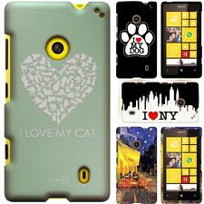 Hard Protective PC Bumper Cover Snap On Phone Cover Case for Nokia Lumia 521