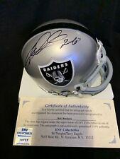 Rod Woodson Oakland Raiders autograph signed Mini Football Helmet Las Vegas HOF