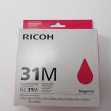 Genuine Ricoh GC 31K regular rendimiento-Cartucho de tinta Magenta-en Caja Y Sellado