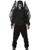 Morris Costumes Fallen Angel Mask And Wings. CC60548