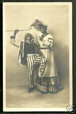 Black Americana rppc Cake Walk 10 Gay Man in Dress 1900 Circus naughty