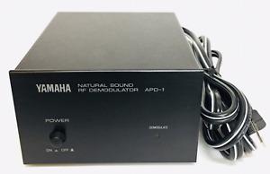 Yamaha APD-1 Natural Sound RF Laserdisc AC-3 Demodulator LD Japan Used Exc++