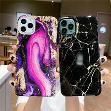 Glitter Slim Shockproof Marble Phone Case Cover Fr iPhone11 Pro Max XS XR 8 Plus