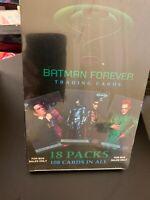 BATMAN FOREVER FLEER 1995 SEALED BOX ~ MOVIE 108 TRADING CARDS