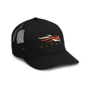 @NEW@ Sitka Gear Everyday Icon Mid Pro Trucker Cap/Hat! black logo