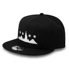 3814aefb66800 Chicago Skyline Egyptian Pyramid Black New Era 9FIFTY Snapback Hat Street  Goth