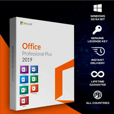 MS®Office 2019 Professional Plus ✅For Win 32/64 ✅ LifeTime KEY ✅Fast Delivery⭐️⭐